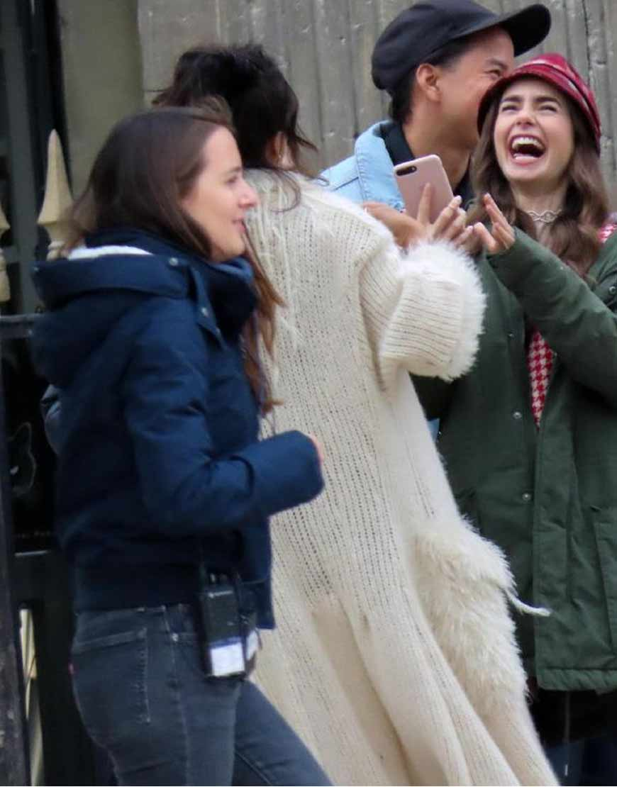 Emily-In-Paris-Ashley-Park-Fur-Coat