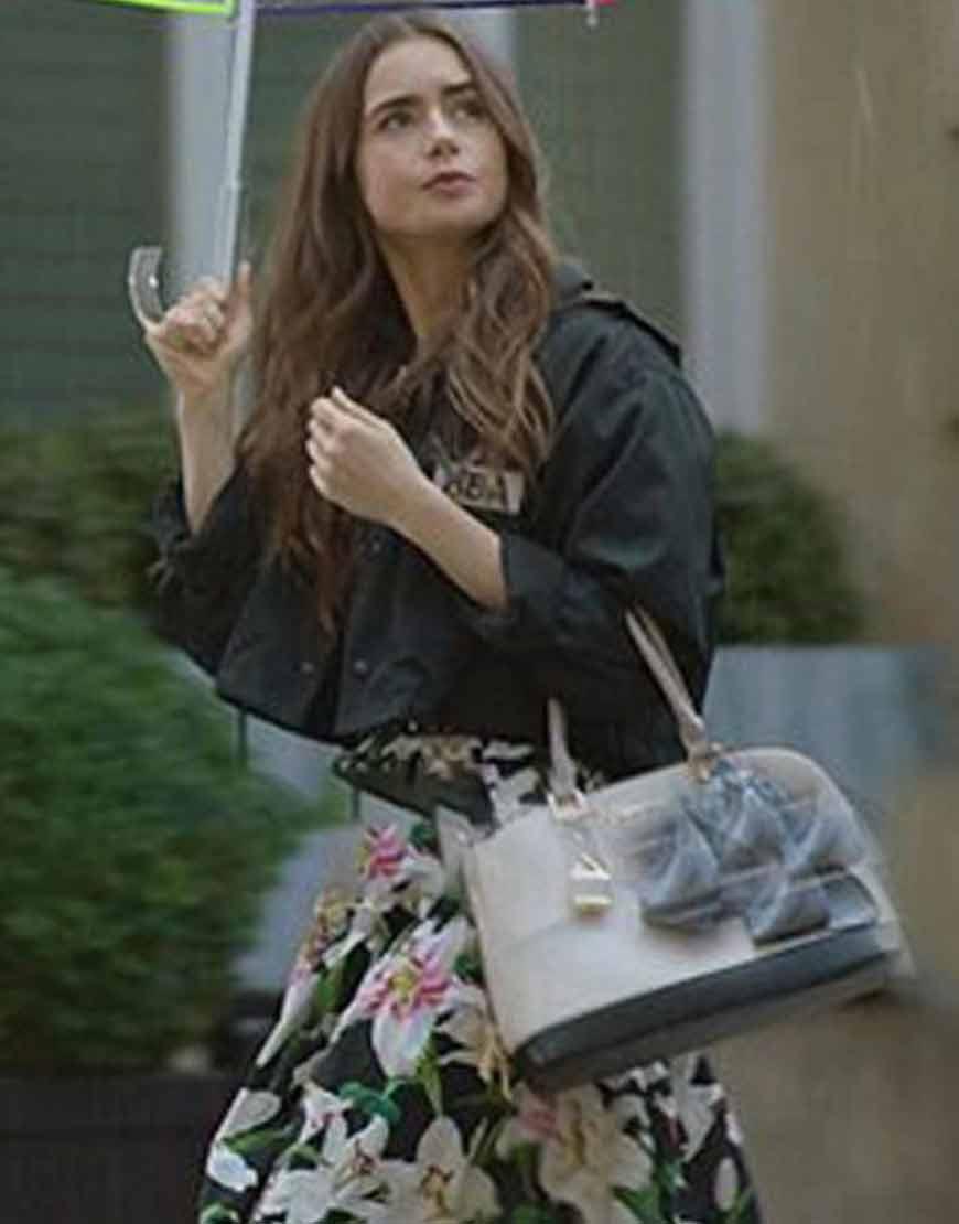 Emily-In-Paris-Emily-Black-HBA-Cotton-Jacket