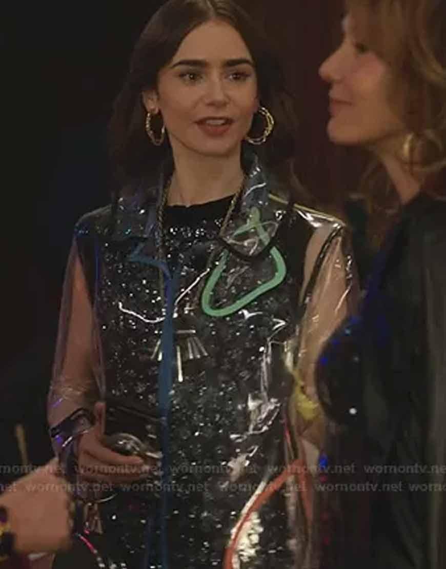 Emily-In-ParisTransparent-Coat