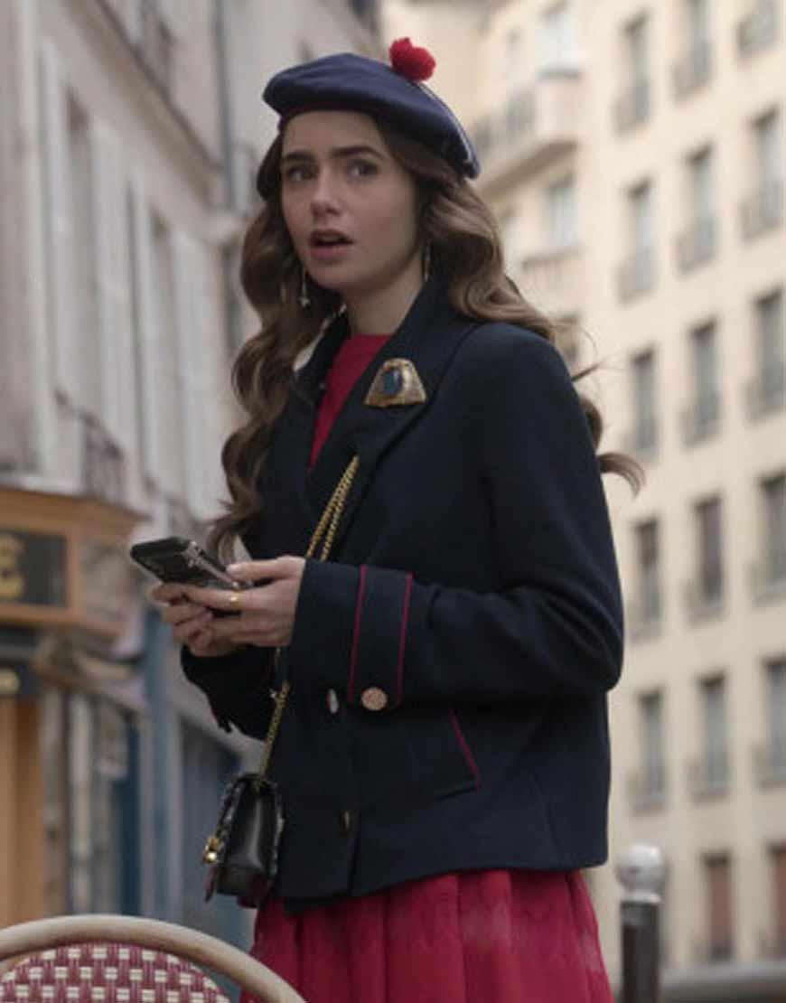 Emily-in-Paris-Emily-Cooper-Blue-Blazer-Coat