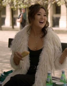 Emily-in-Paris-Mindy-Chen-Fur-Coat