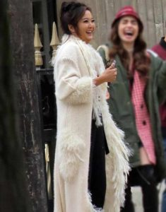 Emily-in-Paris-Mindy-Chen-White-Fur-Coat