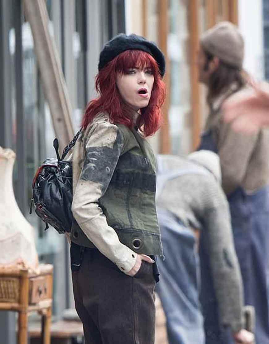 Emma-Stone-Cruella-Deville-Cotton-Jacket