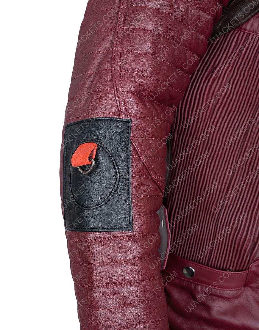 GotG 2 Michael Rooker Yondu Maroon Coat