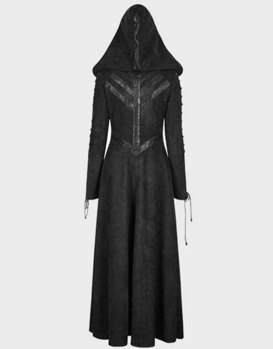 Gothic-Dark-Angel-Hooded-Trench-Coat