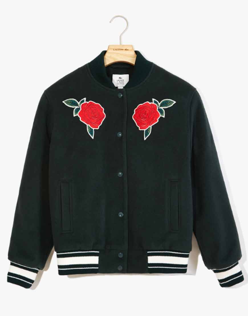 Green-Rose-Embroidered-Varsity-Jacket