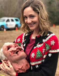 Halloween-Kills-Judy-Greer-Christmas-Sweater