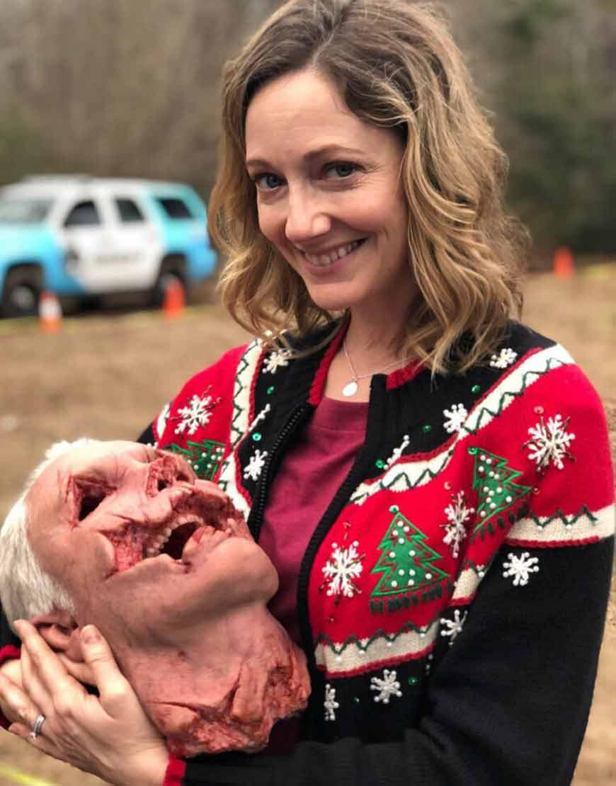 Halloween-Kills-Judy-Greer-Christmas-Sweater