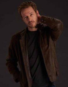 Holidate-Luke-Bracey-Brown-Leather-Jacket
