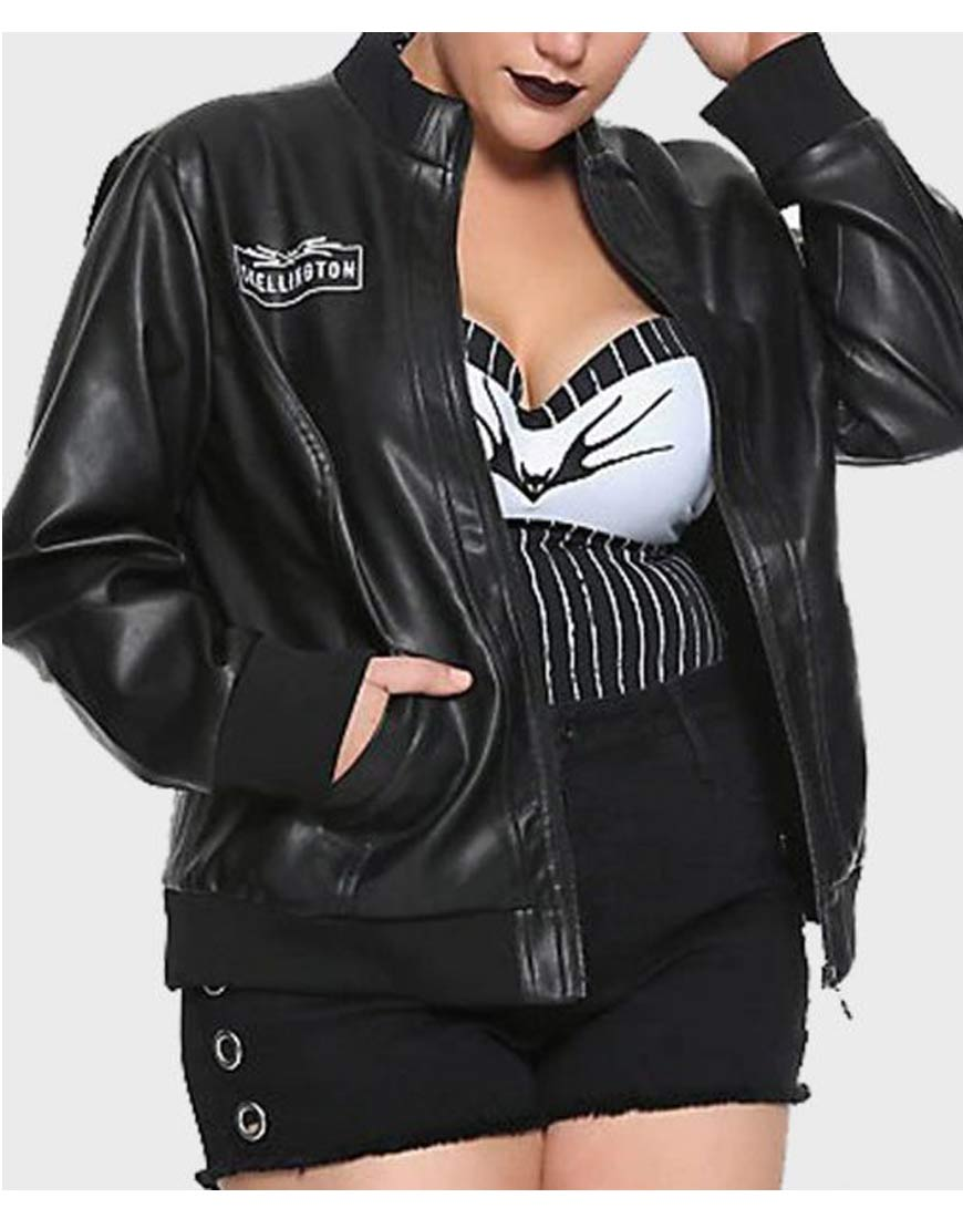 Jack-Skellington-Black-Leather-Jacket