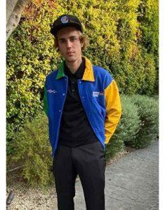 Justin-Bieber-Formula1-Blue-Jacket