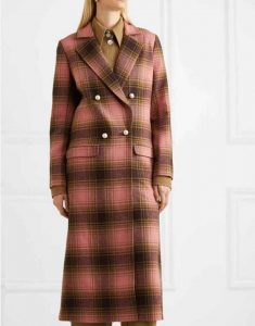 Katherine-Ryan-Double-breasted-The-Duchess-Plaid-Coat