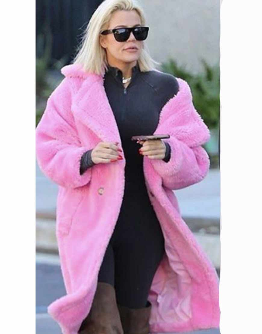 Keeping-Up-With-The-Kardashians-Pink-Fur-Long-Coat