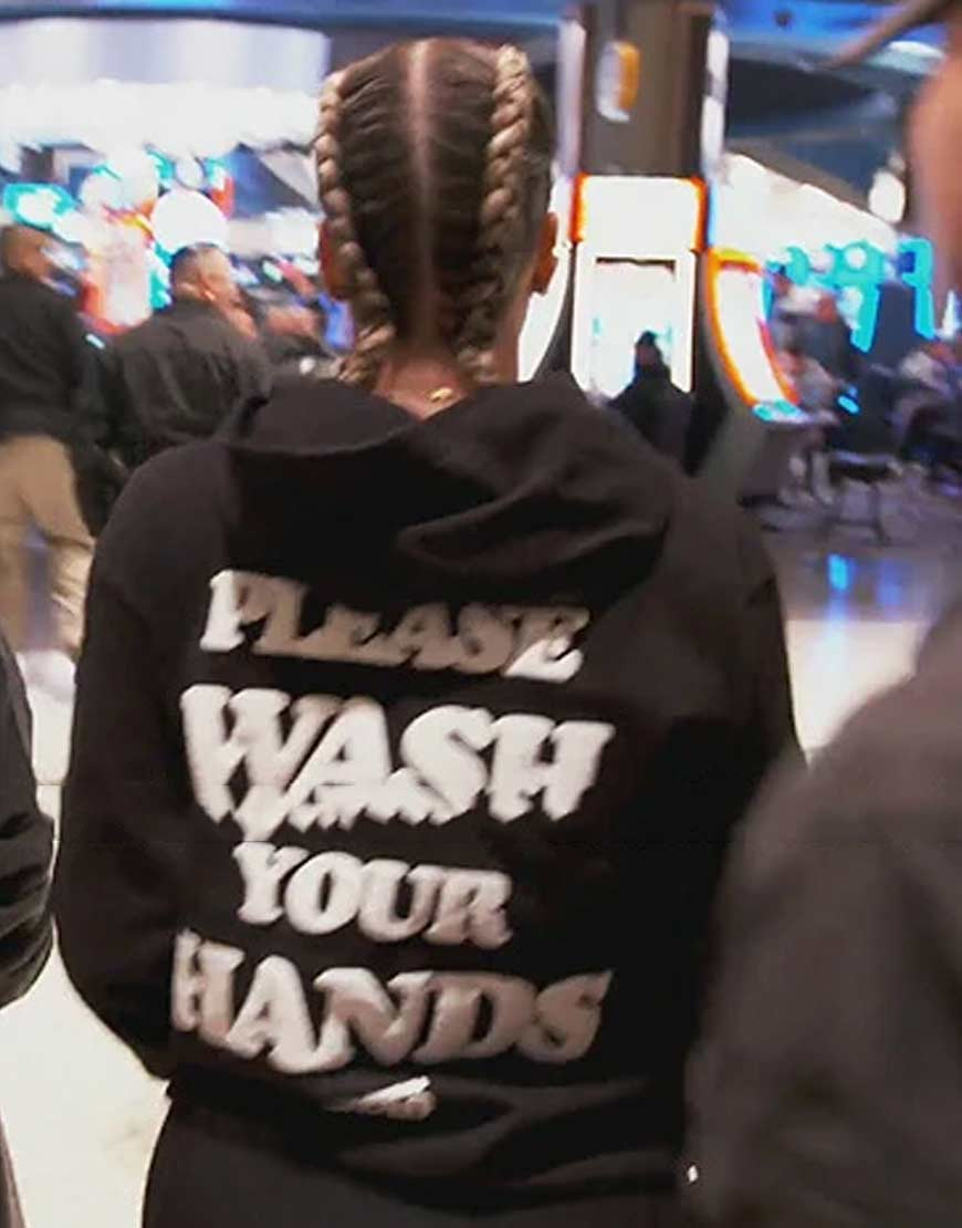 Keeping-Up-with-the-Kardashians-Khloe-Kardashian-wash-your-hands-black-hoodie