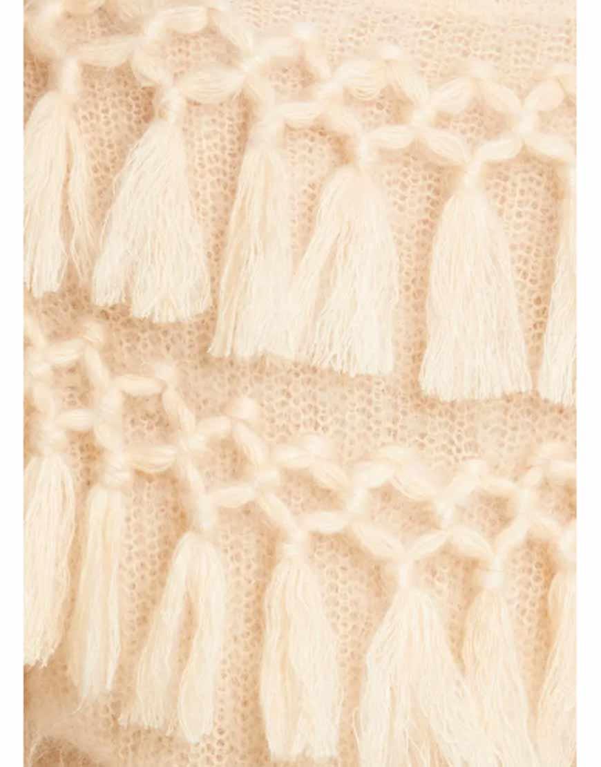 Ladybeetle-Tassel-Mohair-&Peach-Sweater