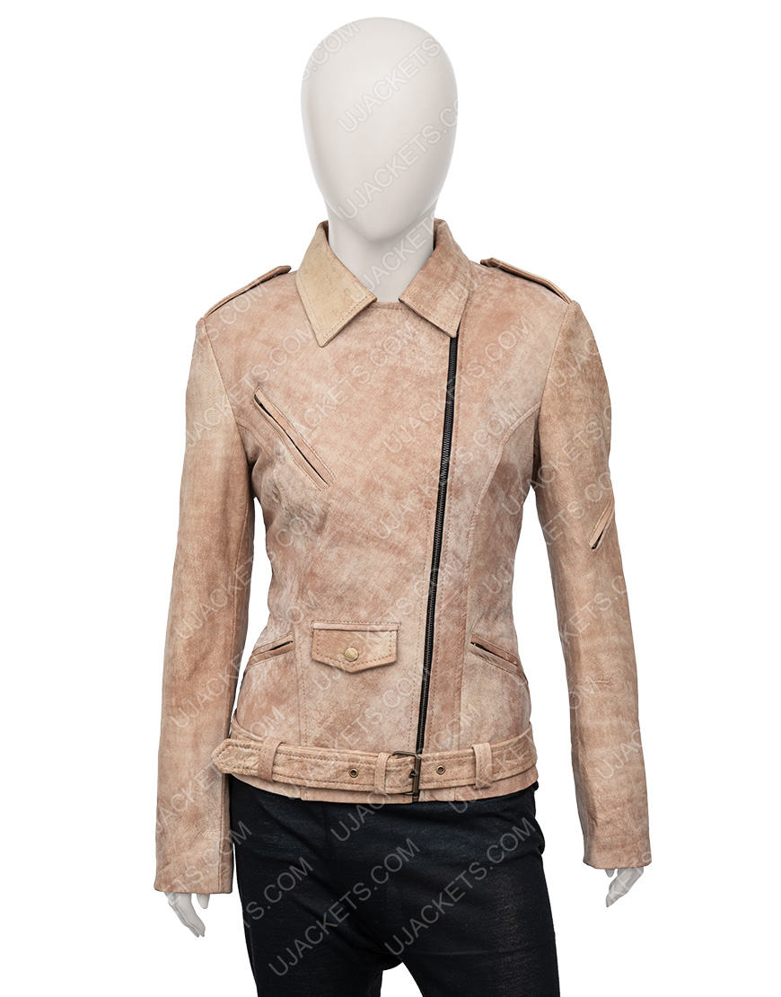Letty Ortiz Fast And Furious 7 Leather Jacket