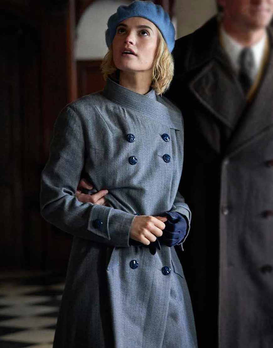 Lily-James-Rebecca-Mrs.-de-Winter-Trench-Coat