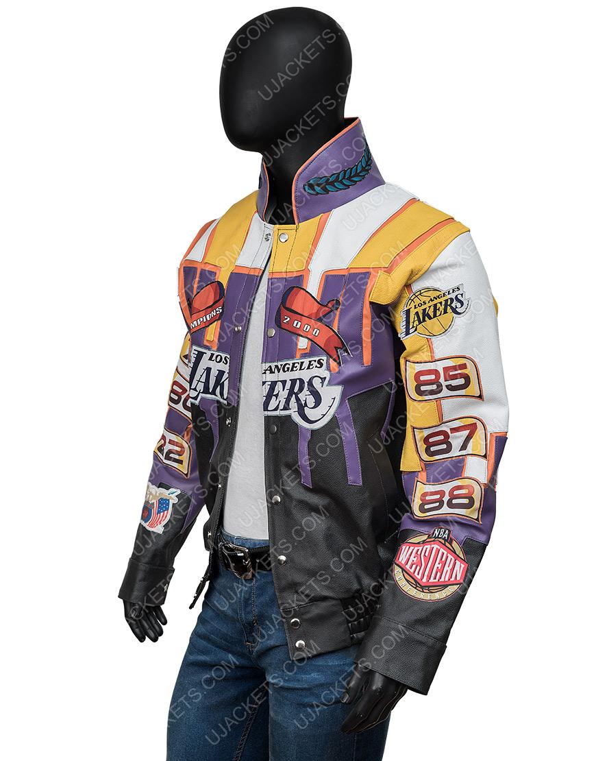 Los Angeles Hamilton 2000 Championship Leather Jacket