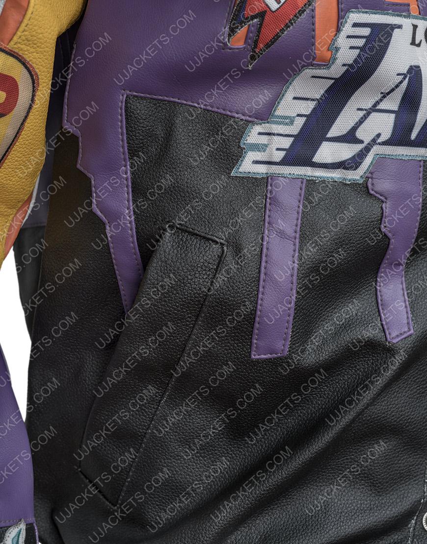 Los Angeles Lakers Hamilton 2000 Leather Jacket