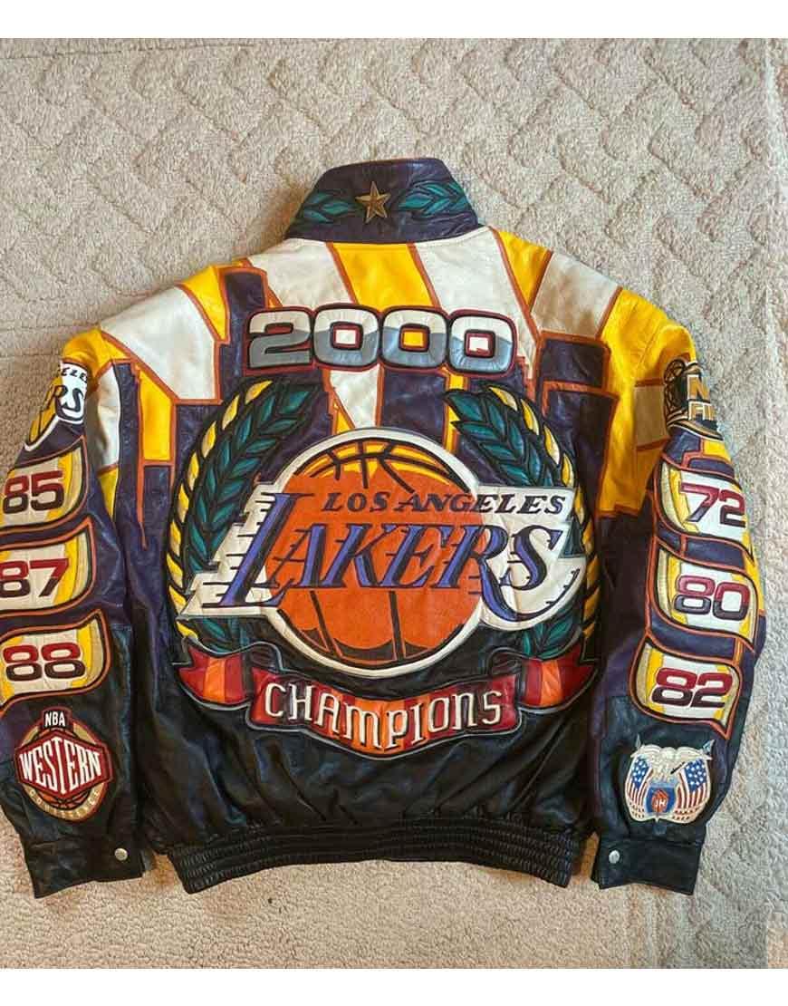 Los-Angeles-Lakers-Jeff-Hamilton-2000-Championship-Jacket