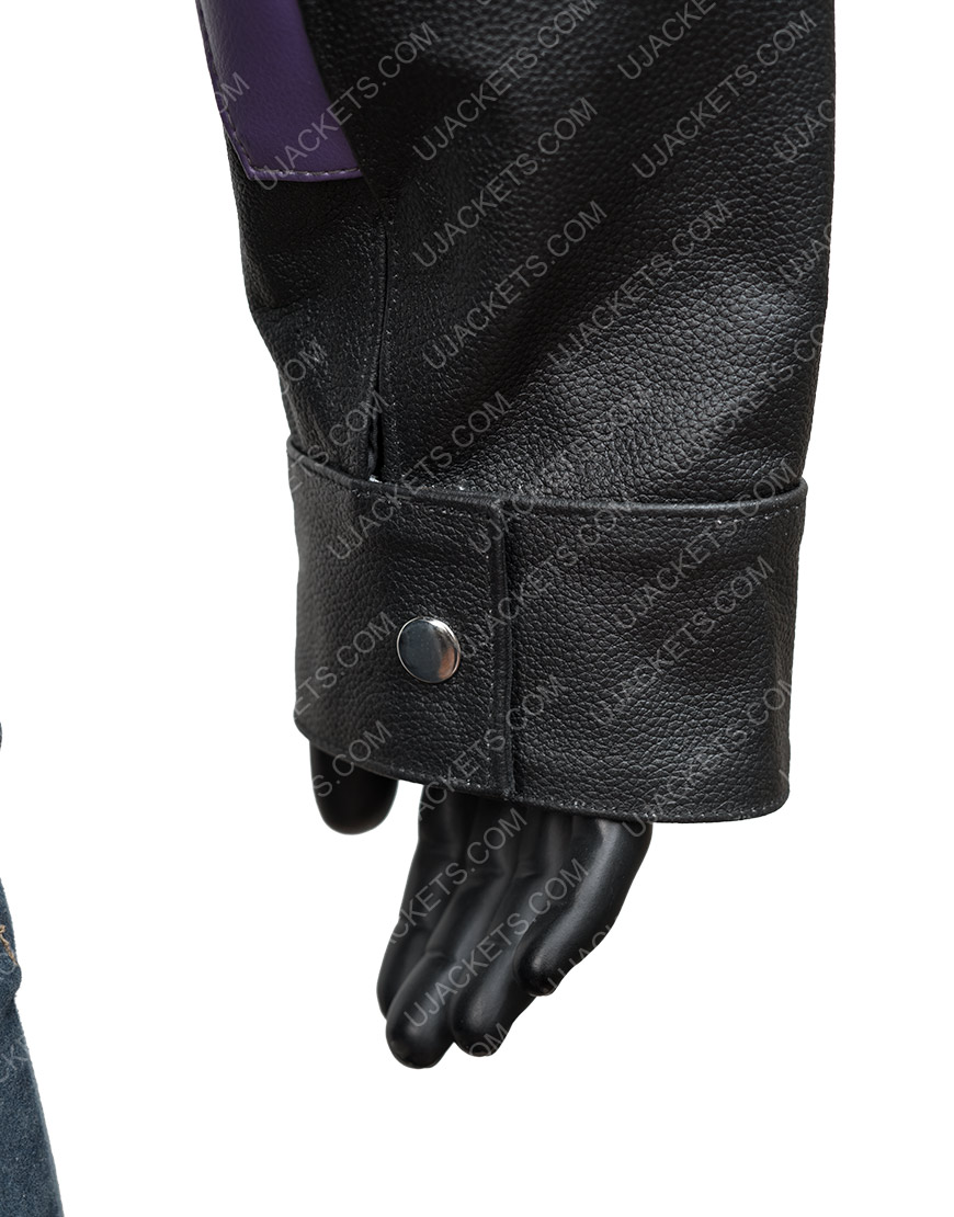 Los Angeles Lakers Jeff Hamilton 2000 Leather Jacket