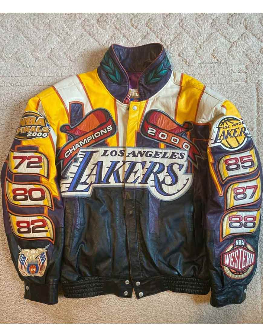 Los-Angeles-Lakers-Jeff-Hamilton-Jacket