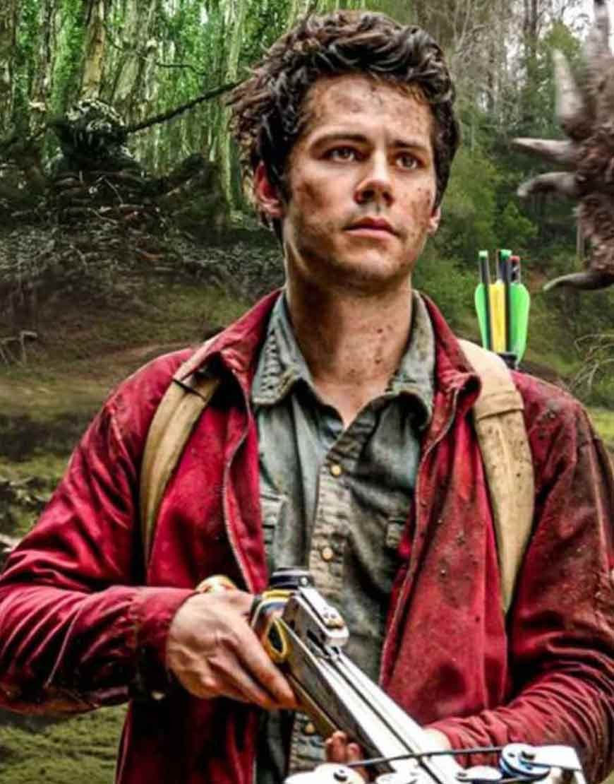 Love-And-Monsters-Dylan-OBrien-Red-Jacket