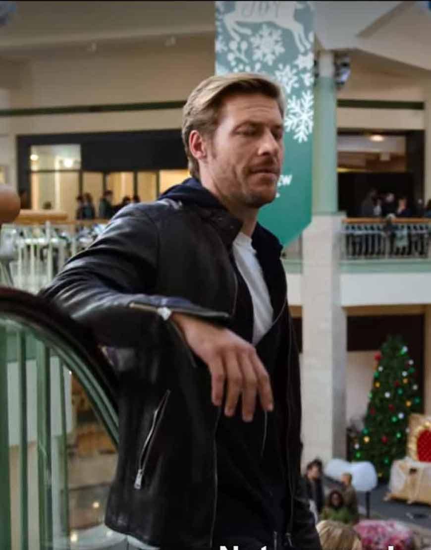 Luke-Bracey-Holidate--Jackson-Black-Leather-Jacket