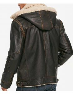 Mens-Brown-Waxed-Aviator-Shearling-Leather-Jacket
