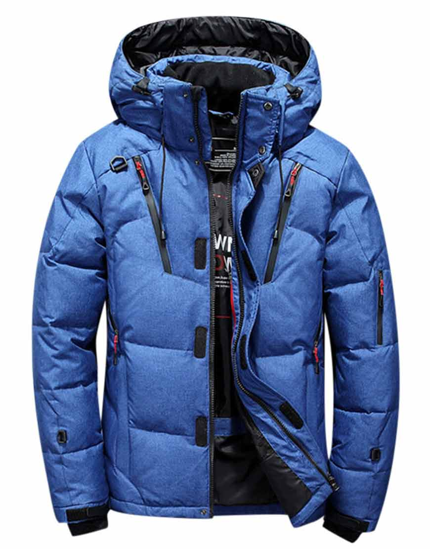Men's-Parka-Quilted-Insulated-Blue-Jacket