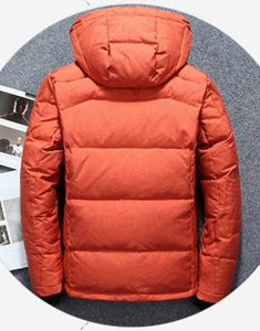 Men's-Parka-Quilted-Insulated-Orange-Jacket