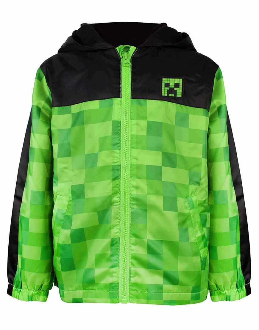 Minecraft-Green-Hoodie-Front