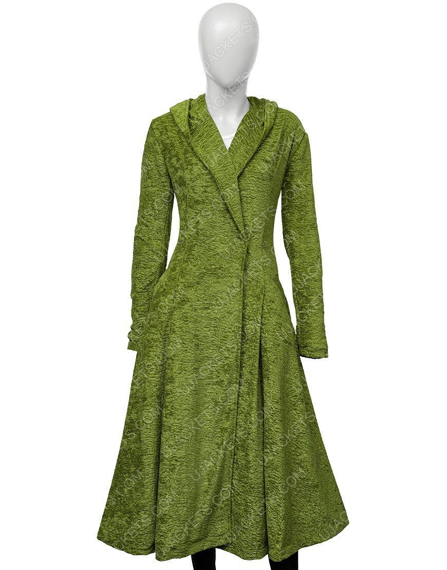 Nicole Kidman Green Coat