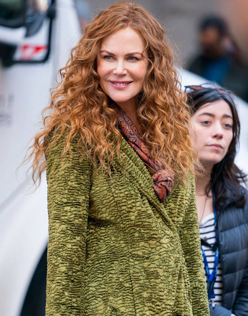 Nicole Kidman TV Series The Undoing Grace Fraser Green Trench Coat