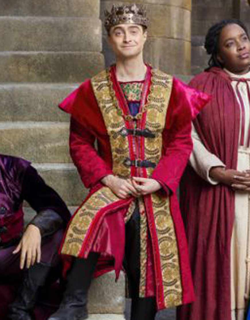 Prince-Chauncley-Miracle-Workers-Daniel-Radcliffe-Coat
