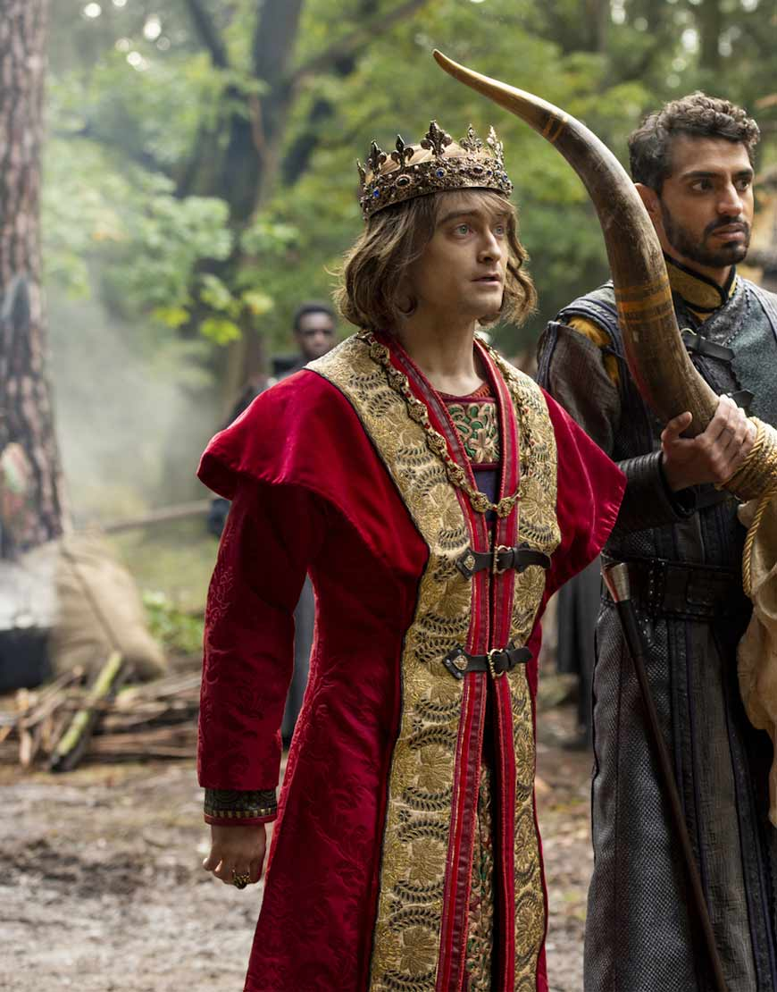 Prince-Chauncley-Miracle-Workers-Daniel-Radcliffe-Red-Coat