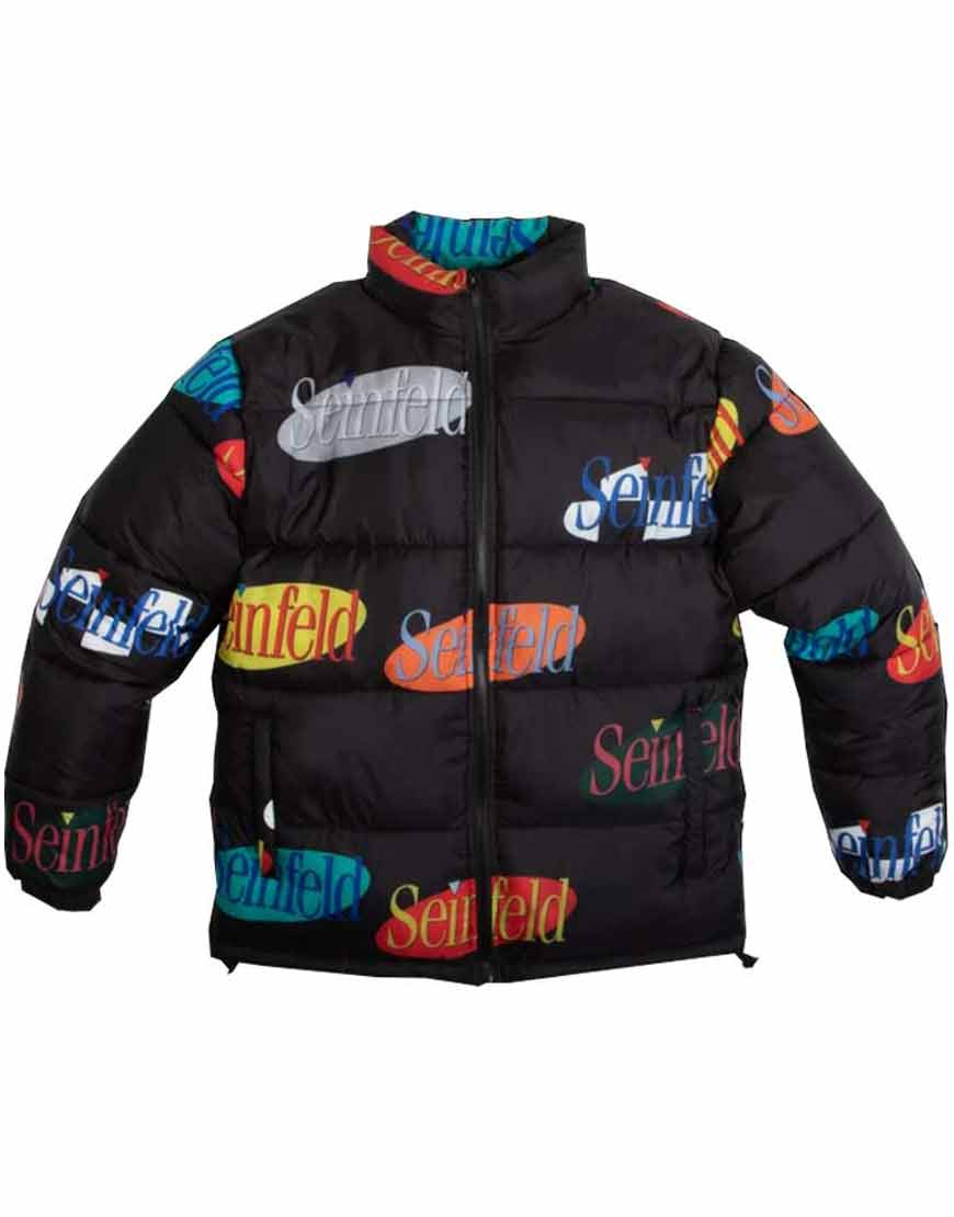 Seinfeld-Logo-Puffer-Jacket