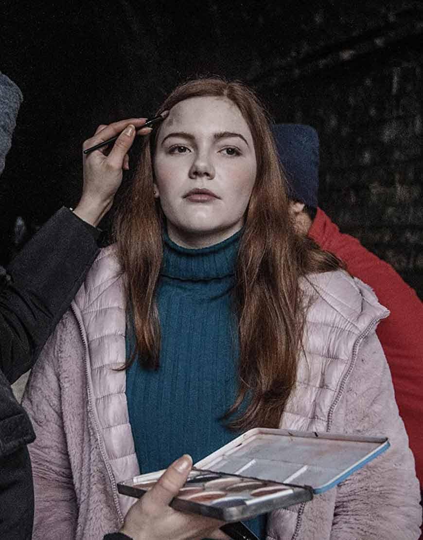 Shortcut-Sophie-Jane-Oliver-Pink-Shearling-Coat