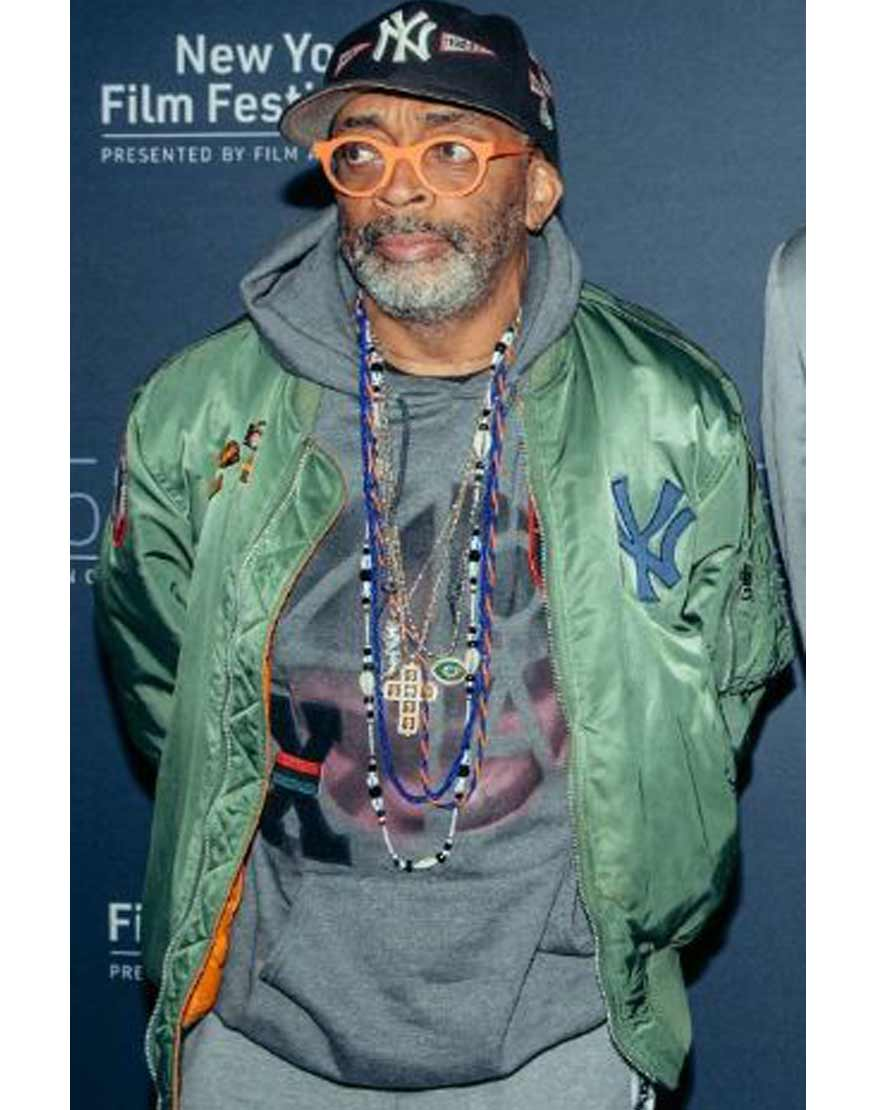 Spike-Lee-Olive-Varsity-Jacket