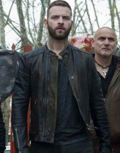 Suburra-S03-Aureliano-Adami-Leather-Jacket