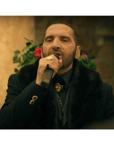 Suburra-S03-Manfredi-Anacleti-Black-Fur-Collar-Coat