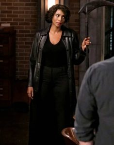 Supernatural-S15-Billie-Leather-Trench-Coat