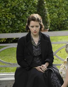 The-Crown-Claire-Foy-Black-Coat