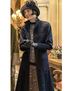 The-Glided-Age-Michelle-Dockery-Coat