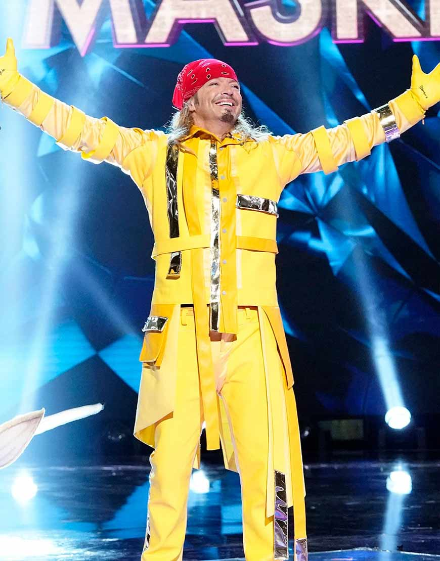 The-Masked-Singer-Bret-Michaels-Yellow-Leather-Jacket