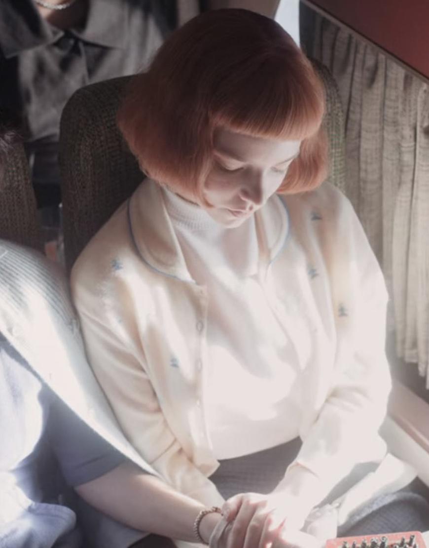 The queen Gambit Beth Harmon Sweater