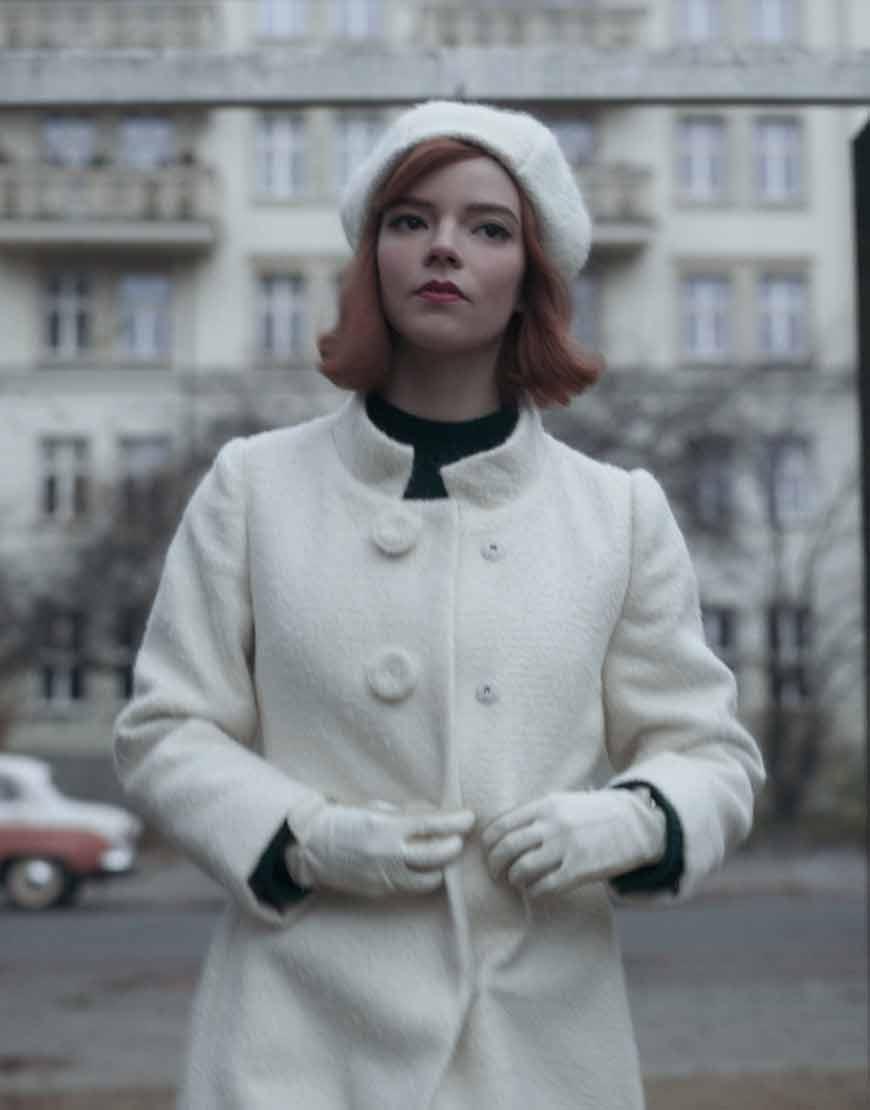 The-Queen's-Gambit-Anya-Taylor-Joy--White-coat