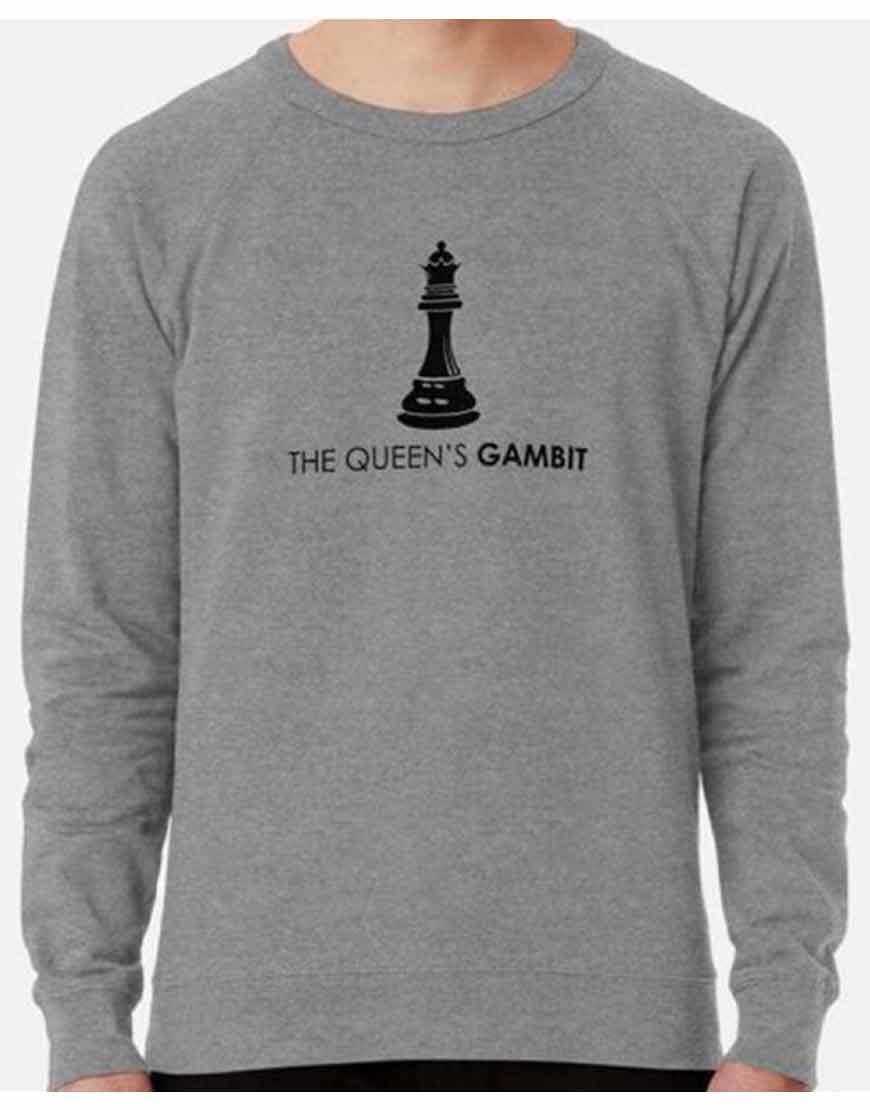 The-Queens-Gambit-Grey-Sweatshirt