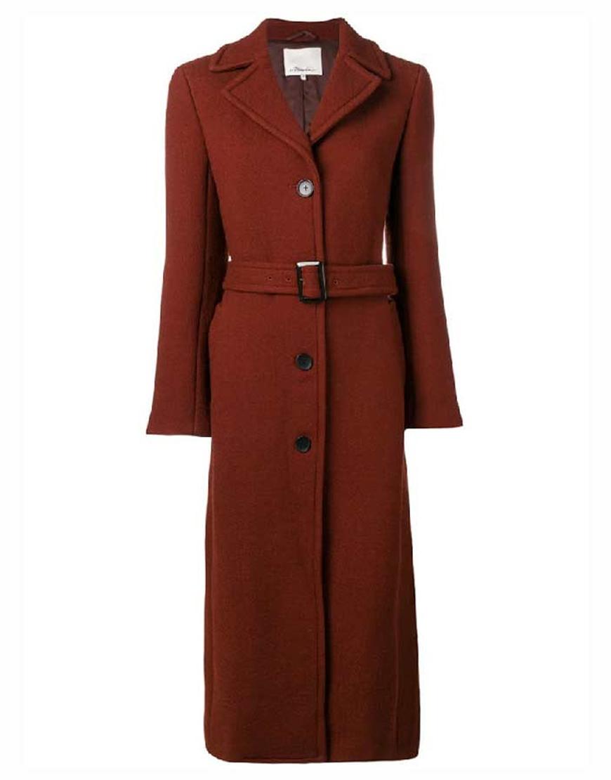 The Undoing Nicole Kidman Brown Coat