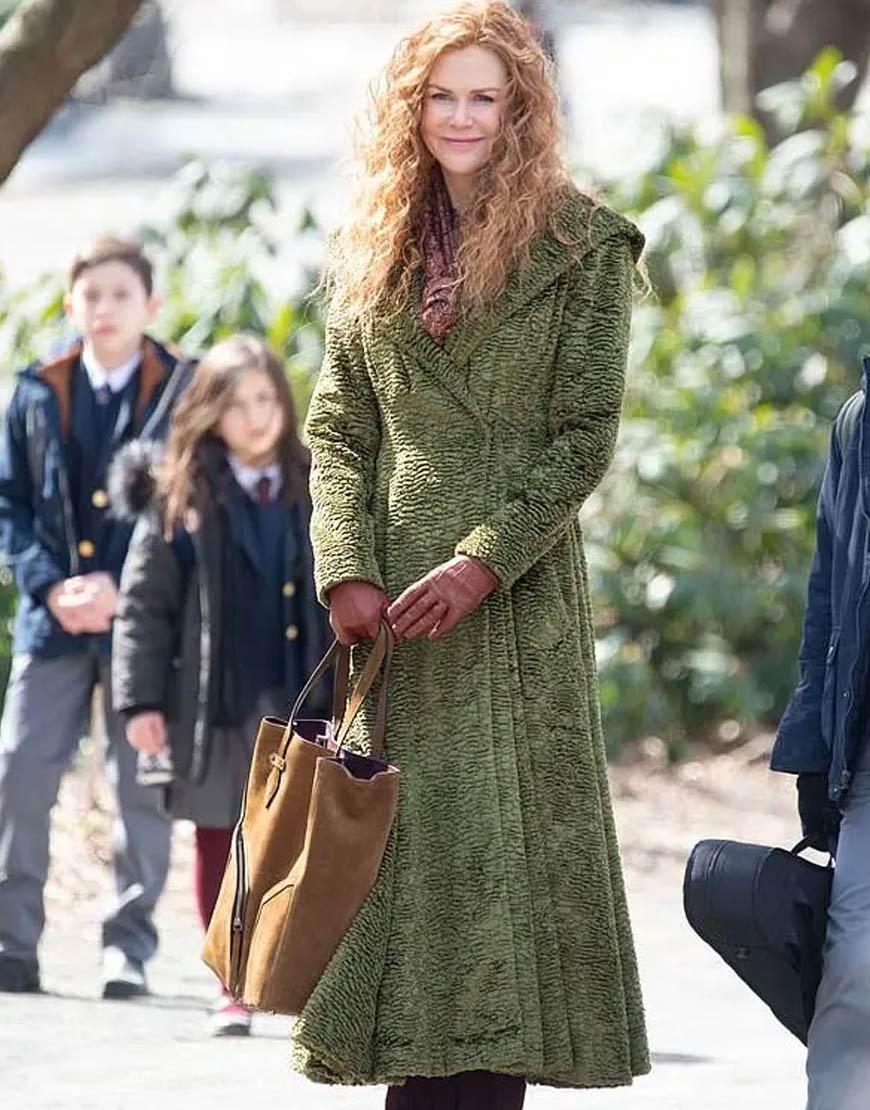 The Undoing Nicole Kidman Green Coat